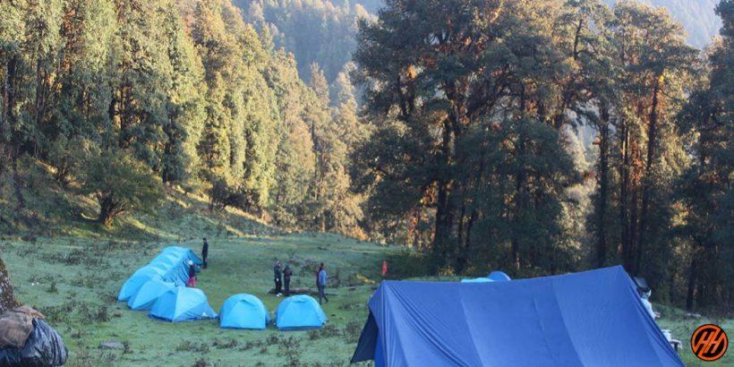 Dayara Bugyal Camp