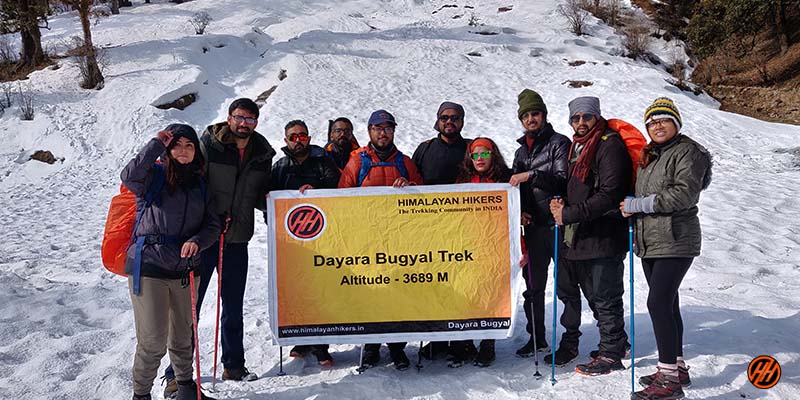 Dayara Bugyal Trek with Himalayan Hikers Banner