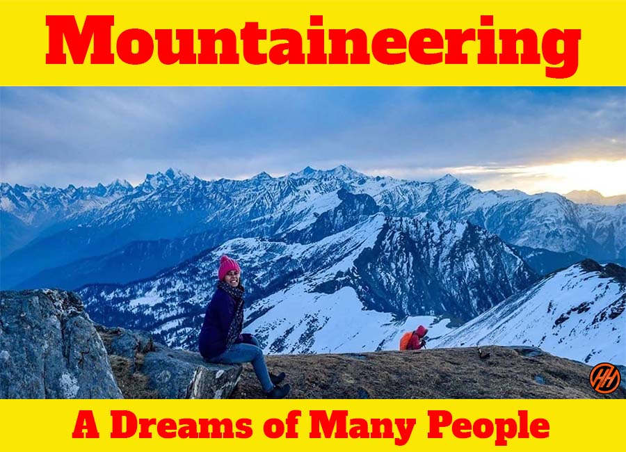 Mountaineering A Dream of Many