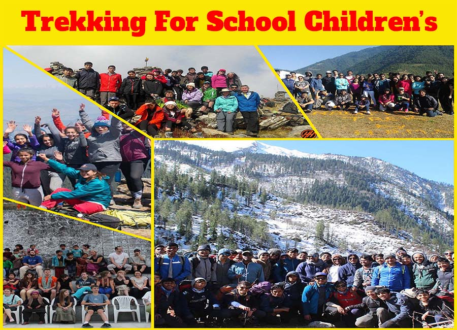 Trekking for School Children's