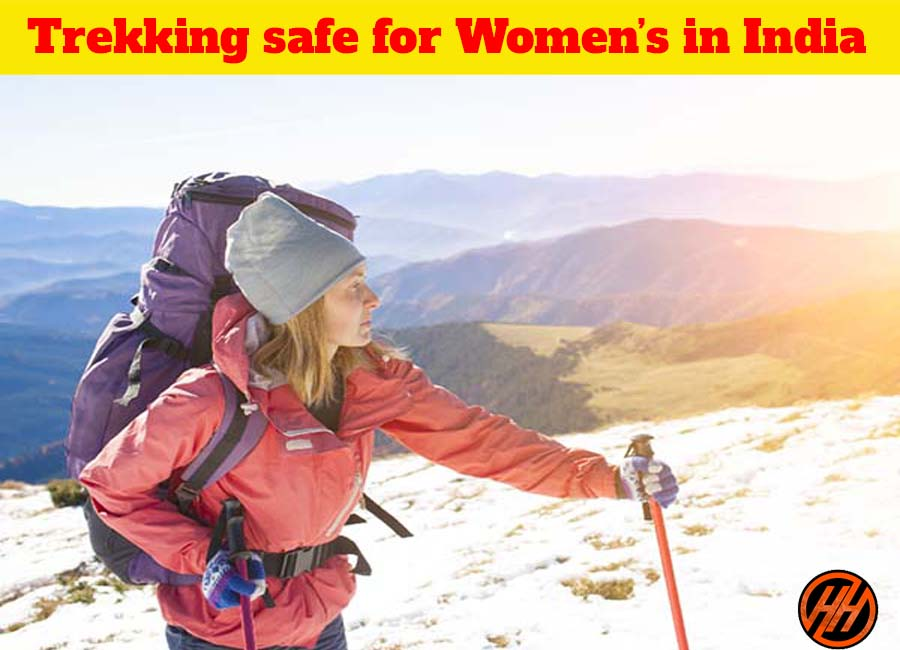 Trekking is Safe for Women in India