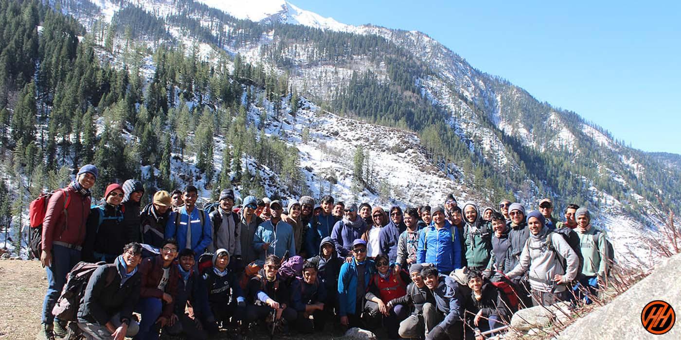 trekking for school children's of Welham boys