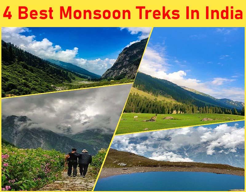 4 best monsoon Treks In India