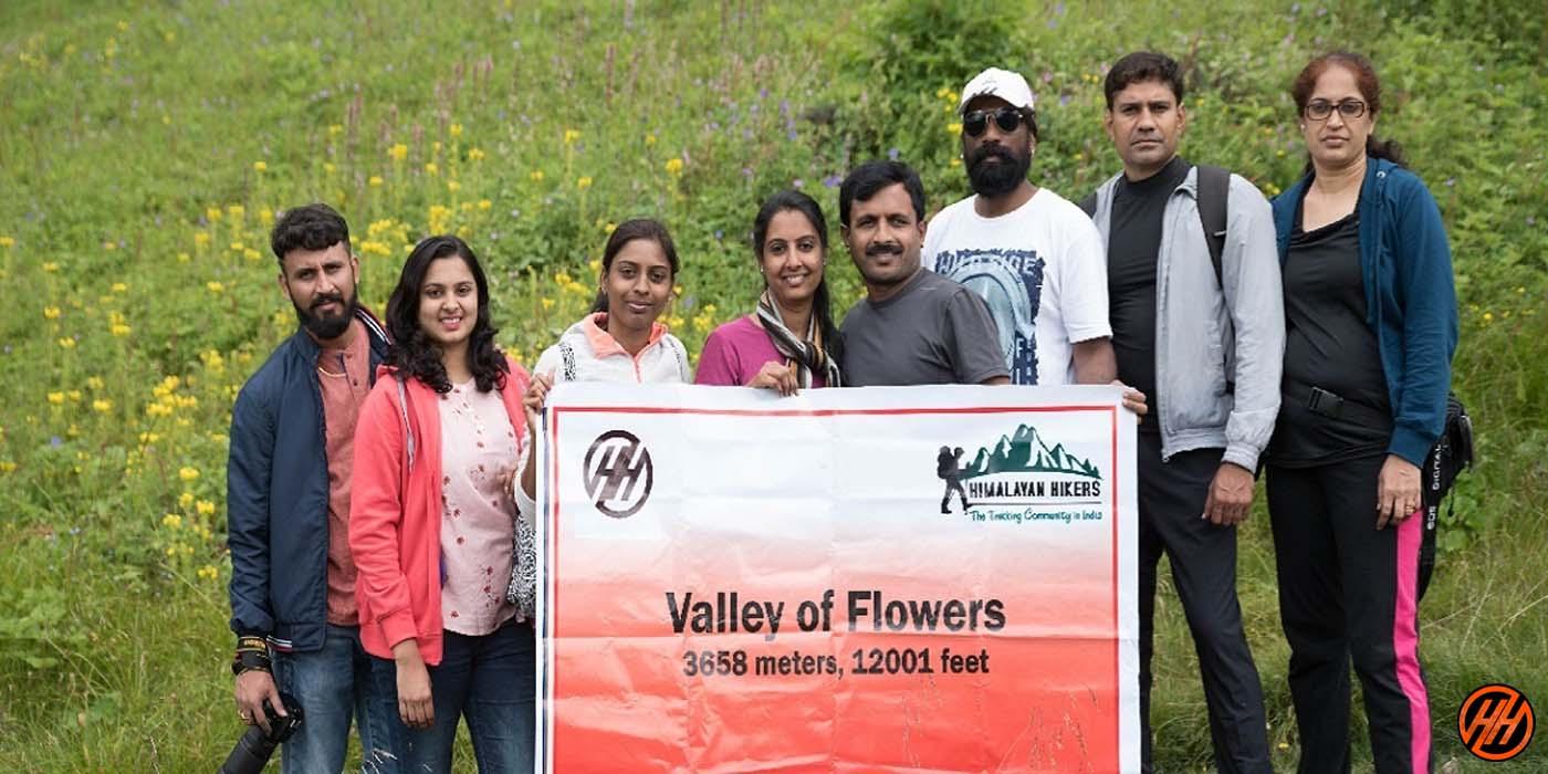 valley of flowers 1st Best Monsoon Trek In India