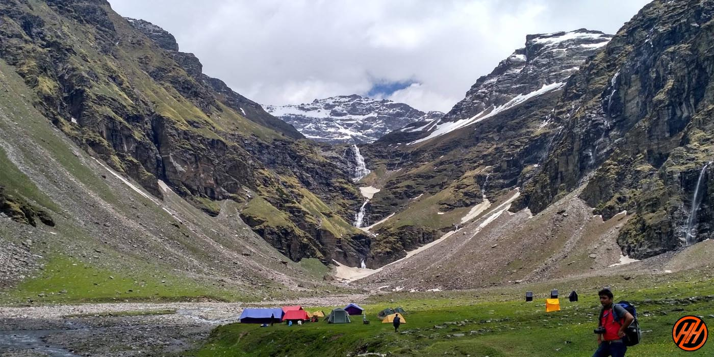 Rupin Pass Trek View