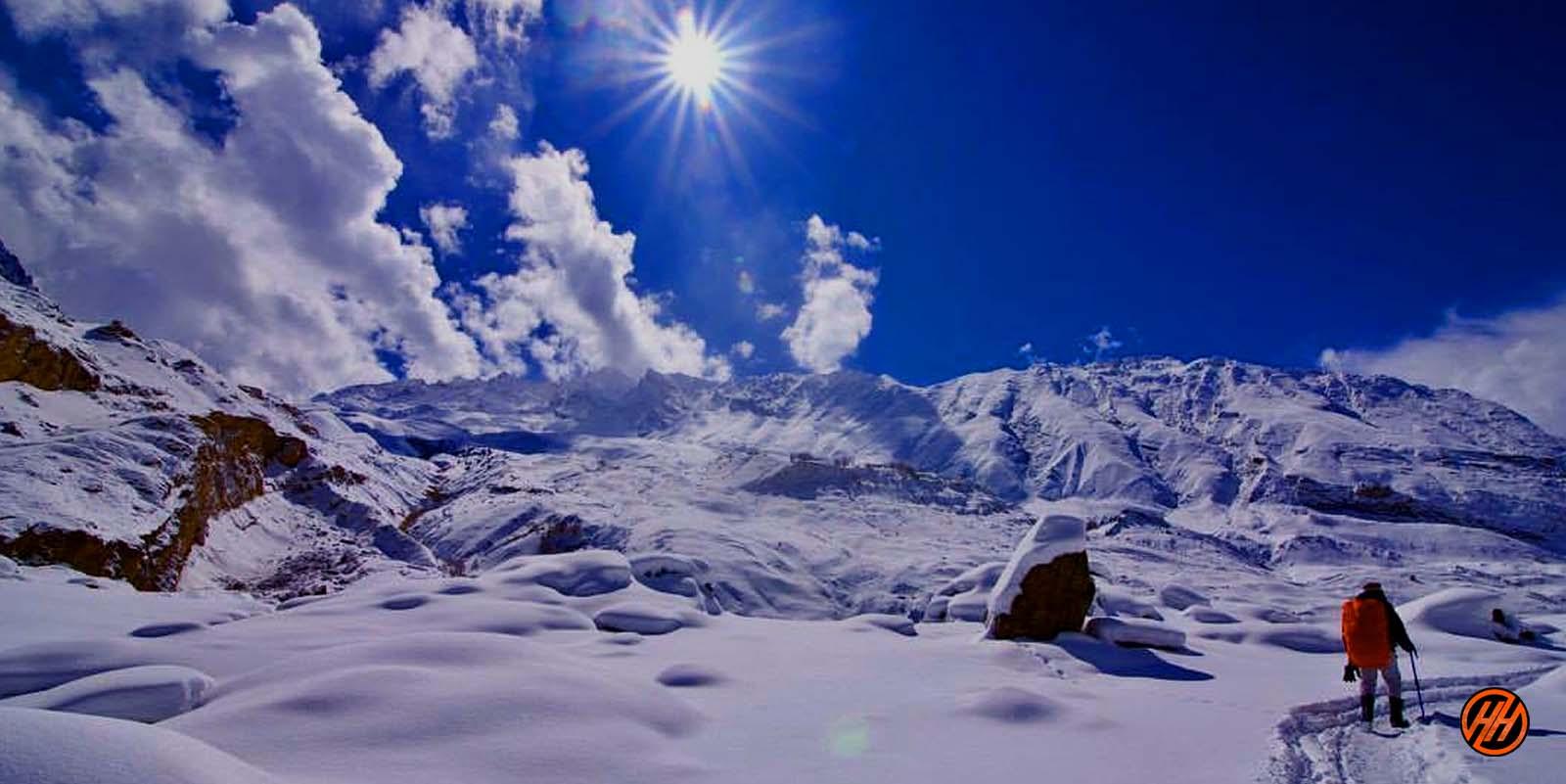 Trekking in india - Chader trek
