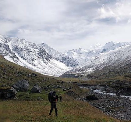 Beautiful Moutains in khimloga Pass Trek