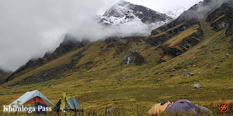 Lovely Weather in campsite of Khimloga Pass Trek