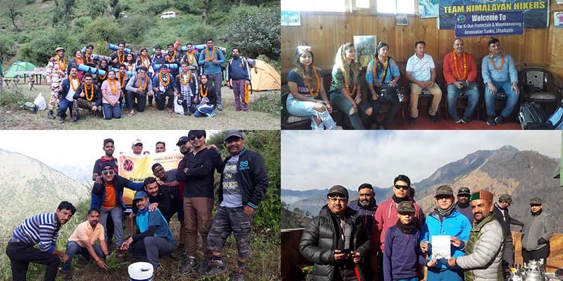 Mountaineering experience