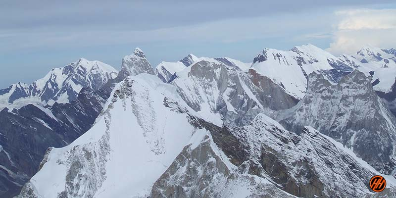 Beautiful Mountains in Mt Kamet Expedition