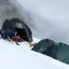 Campsite of Mt. Kamet Expedition
