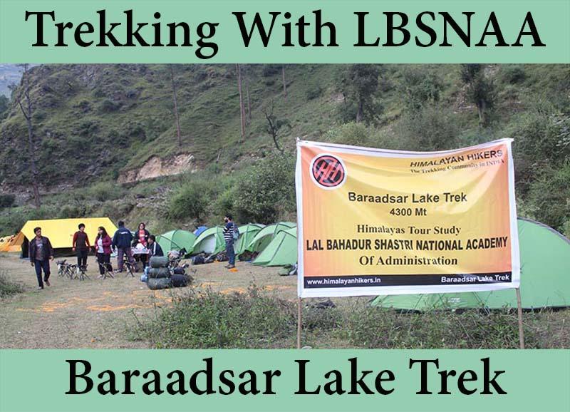 Trekking with LBSNAA