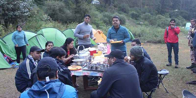 LBSNAA Breakfast In Baraadsar Lake