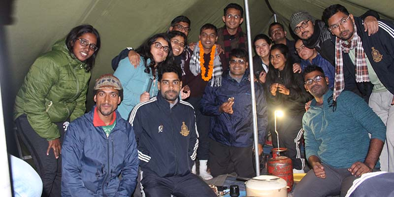 LBSNAA Dinner In Baraadsar Lake