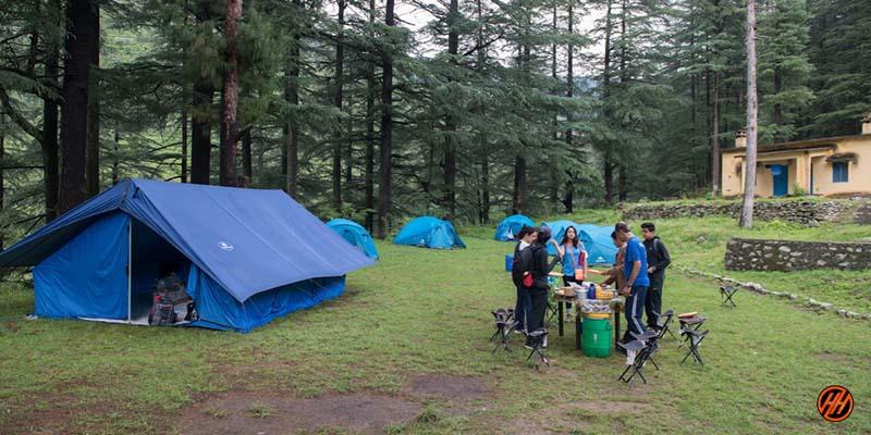 Beautiful Basecamp in Devalsari Lumsu Top
