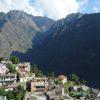 Beautiful village in Kagbhusandi Lake Trek
