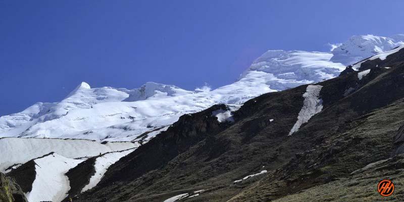 Wonderful view in Rudugaira Peak Expedition
