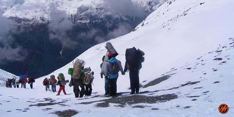 local trekking company and local people